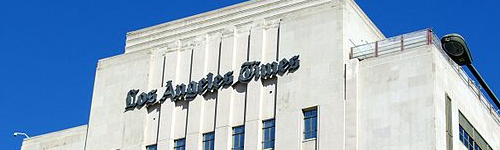 The LA Times won a breaking news Pulitzer prize for covering the mass shooting that happened in San Bernardino, back in 2016. People in this audience may show interest in the newspaper known as the LA Times.