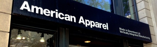 American Apparel has been know to have some strong imagery in it's ads. Out of context, it can be hard to tell the difference between their ads and explicit content. Individuals in this audience enjoy shopping at American Apparel, an American clothing brand! They may also be researching brands like American Eagle, Hollister and Abercrombie & Fitch.