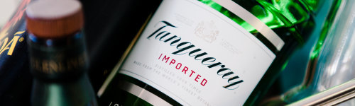 Tanqueray is a London dry gin, first manufactured in Bloomsbury, London in 1830. Its recipe is a closely guarded secret, though it is known to contain juniper, coriander, angelica root, and licorice. Individuals in this audience are interested in the Tanqueray brand, and would likely enjoy a drink or two!