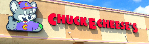 Chuck E. Cheese: Advertise for Brand Clickagy