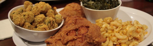 Soul food originated in the South of the United States. The kind of food that does your soul right. This audience loves eating soul food! They have been observed to checking out restaurants and recipes for soul food. People in this audience may have a favorite soul food dish, such as fried chicken, cornbread, grits, stewed okra, fried fish, and ham hock.