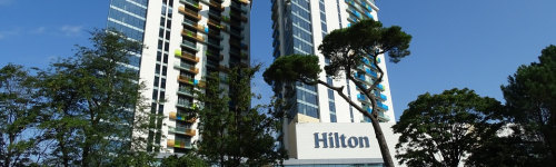The Hilton became even more of a household name after Conrad Hilton's great-granddaughter became a reality celebrity. This audience may enjoy traveling, and so, may be regular customers of Hilton Hotels. They have been observed to regularly book hotel rooms. People in this audience may have past exposure to Hilton Resorts, as well as other Hilton hotels, such as Conrad, Culio, Embassy Suites, Hampton or Hilton Garden Inn.