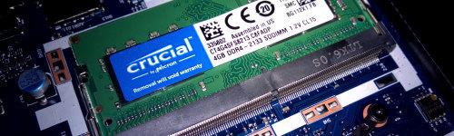 It's crucial that you know of this brand. People in this audience are regular customers of Crucial Technology's computer hardware. They have been observed to research computer products, like solid state drives, DRAM memory, memory upgrades and memory accessories, like USB drives or external hard drives.