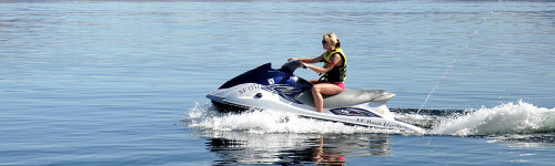 This audience is interested in getting a recreational watercraft or water scooter, that is powered by an engine and the rider either sits or stands on. People in this audience may be interested in brands, such as Kawasaki, Sea-Doo, WaveRunner, Jet Ski, or Yamaha WaterCraft.