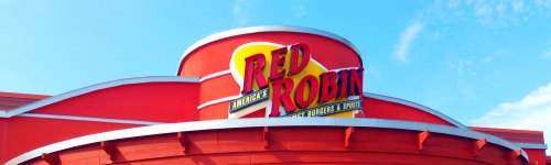 Yummmm! Red Robin is the place to go if you want a big burger and endless fries. Red Robin has many different types of burgers including; the Smoke & Pepper burger, Marco Pollo Burger, Gourmet Burger, Royal Burger, and their Classic burger.
