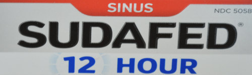 Got a stuffy nose? Grab some Sudafed. Sudafed treats nasal and sinus congestion over the counter.