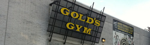 A Gold's gym was the primary filming location for a movie called Pumping Iron. Whether it was a good movie or not, remains to be seen. This audience includes people who enjoy living an active lifestyle. They may be interested in becoming a Golds Gym member or are thinking of joining a Golds Gym, and they have been observed to check out fitness class times, personal trainers, membership prices and the nearest Golds Gym location.