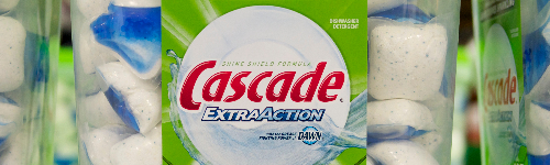 It's a detergent. People in this audience enjoy using Cascade detergent for their dishwashing. They shop for Cascade detergent product lines, like Cascade Platinum, Cascade Complete, Cascade With the Power of Clorox and Cascade Rinse Aid. This audience is looking for a certain type of detergent, like Actionpacs, gel detergent or powder detergent.