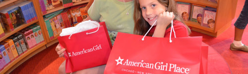 This audience includes people who are big fans of American Girl dolls. They may be interested in purchasing an American Girl doll, as well as American Girl doll furniture, clothing and accessories.