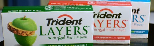 Trident is a leading brand of sugar-free chewing gum which hails from England. While it's not as strong as Poseidon's trident, the gum has sharp flavors of spearment, peppermint, wintergreen, and other flavors.