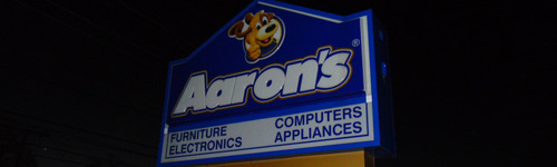 In 2013, Aaron's was allegedly using spyware on the computers they rented, gathering information such as SSN, passwords and even explicit images. People in this audience have an interest in Aaron's, the electronics specialty store with a heavy focus on lease to own. They may also be interested in Rent A Center and Home Depot.
