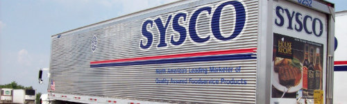 If your business needs large amounts of food delivered to its door, you call Sysco. For almost 50 years Sysco has been a leader in food distribution and logistics. It's not just restaurants, but hotels, Inns, healthcare, and educational facilities also benefit from Sysco's services.