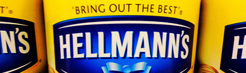 Hellman's is one of the biggest names in mayonnaise, worldwide. Owned by Unilever, Hellman's operates worldwide and produces Ketchup and Mustard as well. Their main competitors is Kraft.