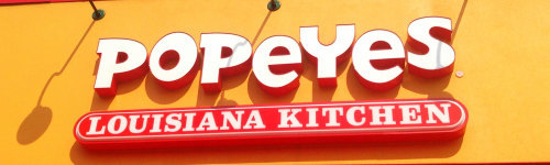 1d3af49f711 Popeyes Louisiana Kitchen  Advertise for Brand - Clickagy