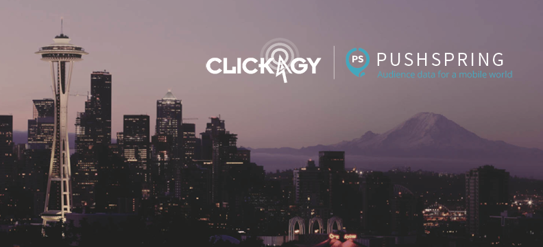 PushSpring and Clickagy Partner to Bring Industry-Leading Data to Mobile